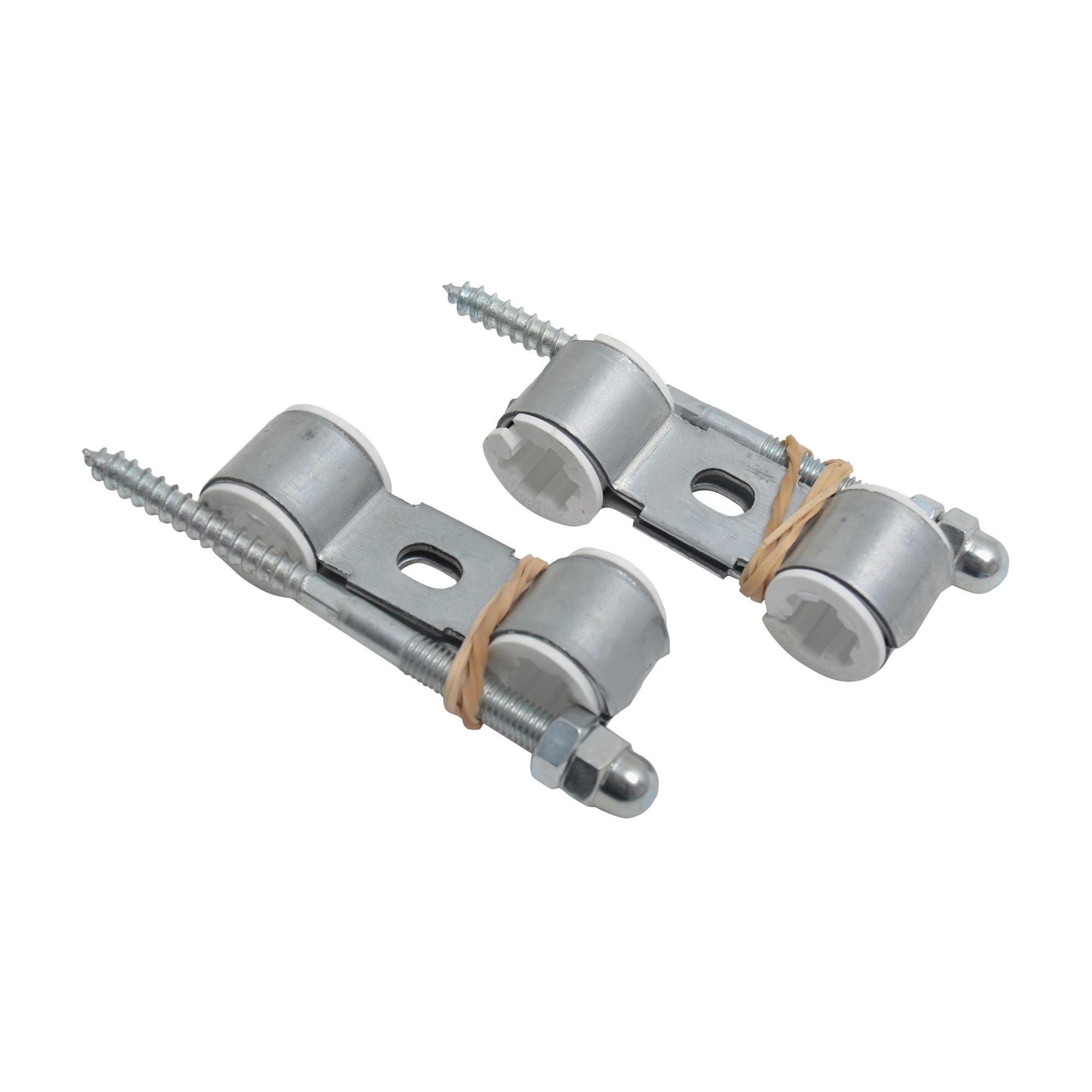 GAMMA CV buis T-beugel met inleg Ø 15 mm 2 stuks
