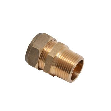 "GAMMA multi-fit koppeling overgangstuk (buitendraad) 3/4""x22 mm"