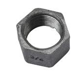 """GAMMA malleable koppeling dop nr.300 zwart (binnendraad) 3/4""""x3/4"""""""