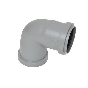 Bocht 90° PPC grijs 50x50 mm