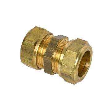 VSH knelkoppeling messing sok 22x22 mm