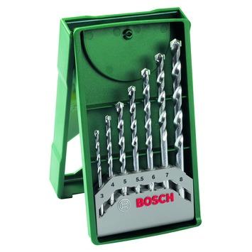 Bosch 7-delige steenborenset