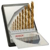 Bosch Prof 10-delige metaalborenset HSS-TIN, 135°
