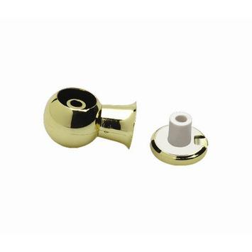 Intensions Practical steun voor gordijnroede middenstuk 13 mm goud 2 stuks