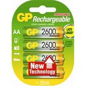 GP batterij herlaadbaar AA 4 stuks