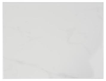 Wandtegel Aspen marmer Wit/Grijs 25x33 cm 1,5 m²