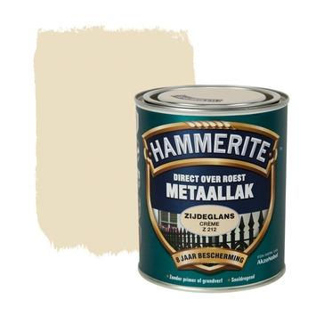 Hammerite metaallak creme zijdeglans 750 ml