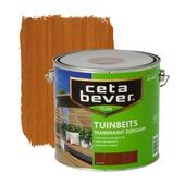 CetaBever tuinbeits transparant teak zijdeglans 2,5 liter