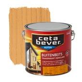 CetaBever buitenbeits transparant grenen zijdeglans 2,5 liter