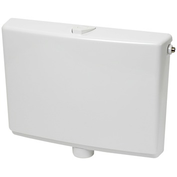 Populair GAMMA | Wisa 550 opbouwreservoir laaghangend wit 6/9 liter kopen LY37