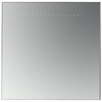 Badspiegel 60x60.Plieger Spiegel Met Led Verlichting Zilver 60x60 Cm