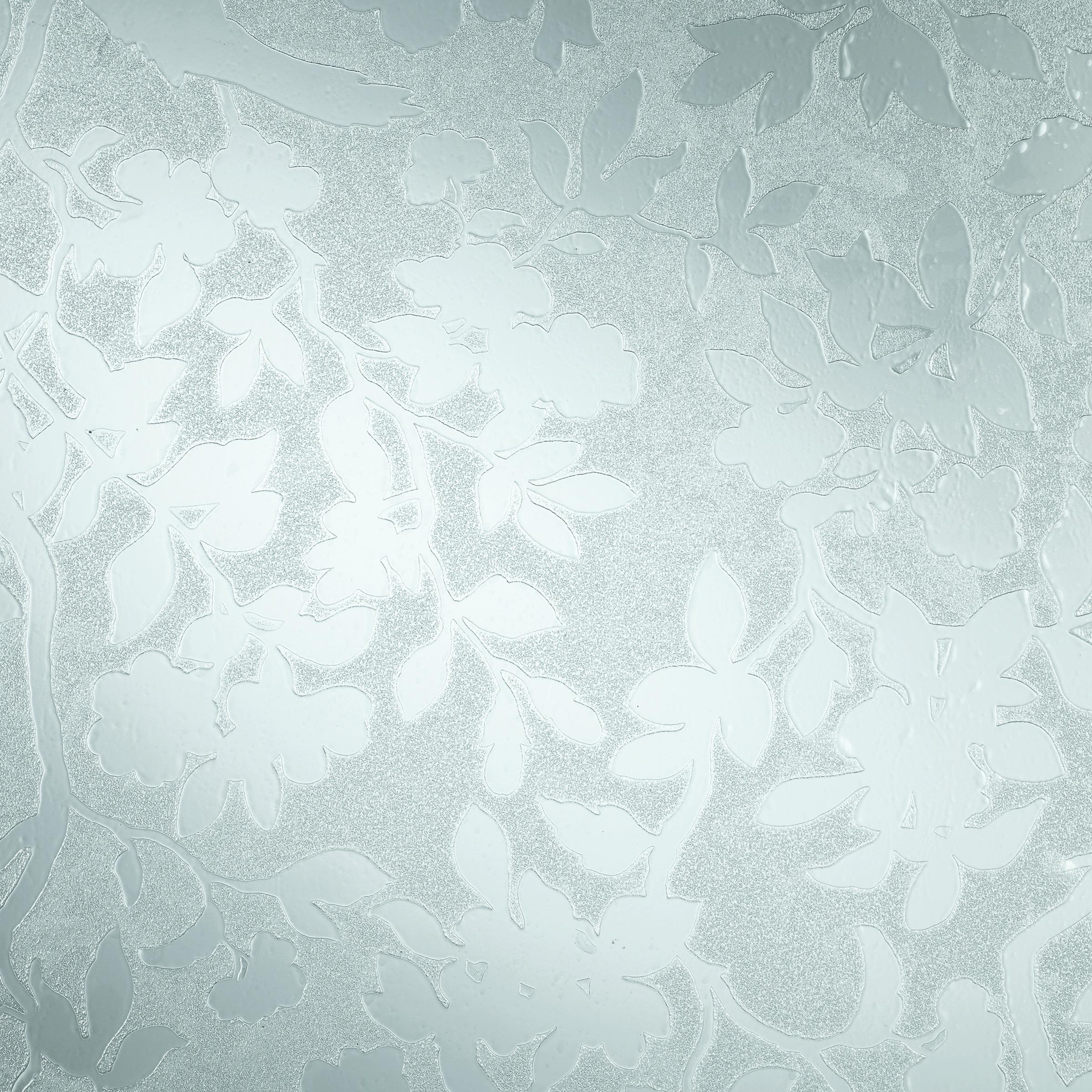 Glasfolie Spring wit