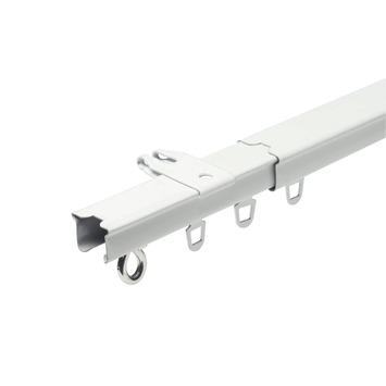 Intensions standaardrail uitschuifbaar compleet wit 160-300 cm