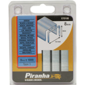 Piranha nieten type 1 8 mm 1000 stuks X70108-QZ