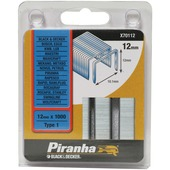 Piranha nieten type 1 12 mm 1000 stuks X70112-QZ