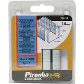 Piranha nieten type 1 14 mm 1000 stuks X70114-QZ