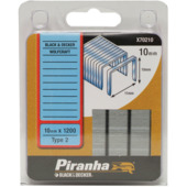 Piranha nieten type 2 10 mm 1200 stuks X70210-QZ