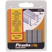Piranha nieten type 5 6 mm 1440 stuks X70506-QZ