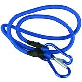 Dyto snelbinder blauw met karabijnsluiting