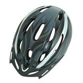 Dyto fietshelm zwart/grijs 54-57 cm S/M