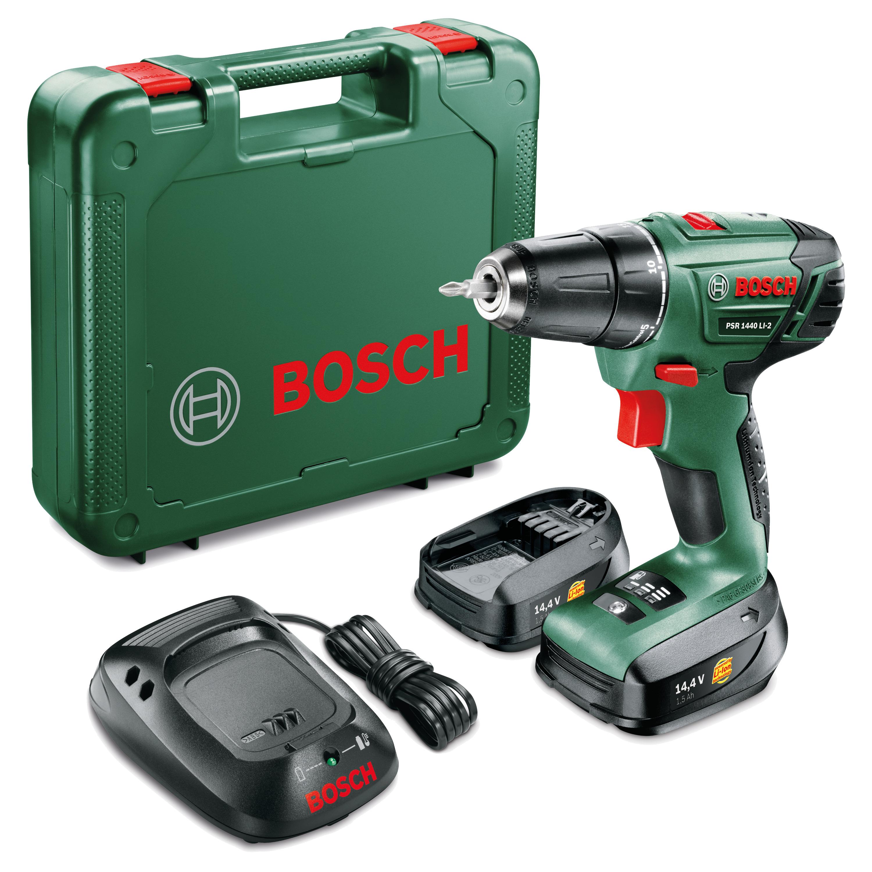 Bosch accuboormachine PSR 1440 LI-2 1,5 Ah + 2 Li-Ion accu's