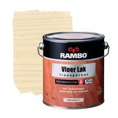 Rambo vloerlak transparant whitewash zijdeglans 2,5 liter