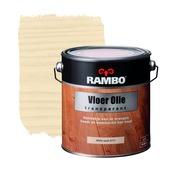Rambo vloerolie transparant whitewash 2,5 liter