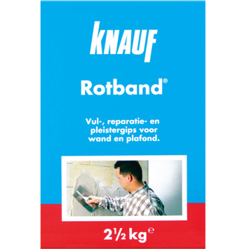 Knauf roodband 2,5 kg