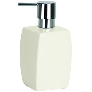 Spirella Twist zeepdispenser wit