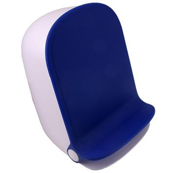 Spirella Nuovo pedaalemmer blauw/wit