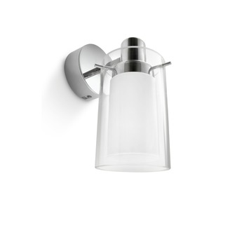 Philips myBathroom wandlamp Care chroom/glas