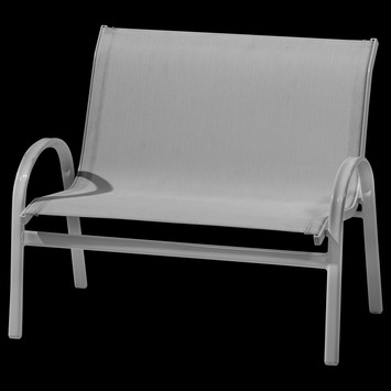 Kinderbank Lotte Aluminium Staal 59x71x50 cm