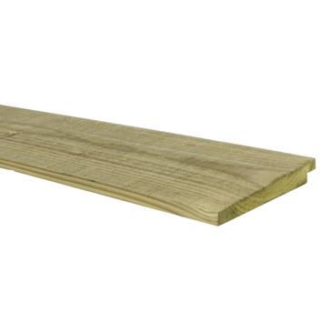 Potdekselplank 240x1,8X13,8 cm