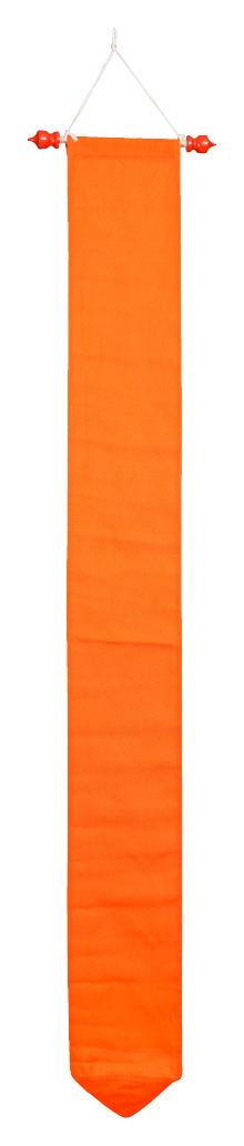 Wimpel oranje 175 cm