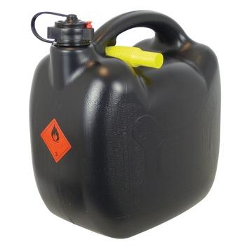 Jerrycan zwart 10 liter