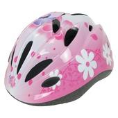 Dyto fietshelm meisjes bloemprint S