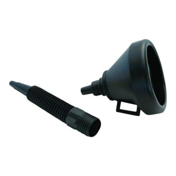 Trechter met flexibele tuit zwart