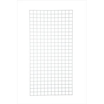 Gaaspaneel wit maaswijdte 50 mm 120x60 cm