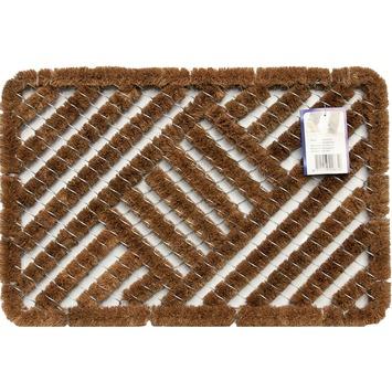 Gamma borstelmat 40x60 cm naturel kopen droogloopmatten for Karwei openingstijden zondag