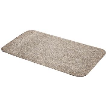 Droogloopmat 50x80 cm zand