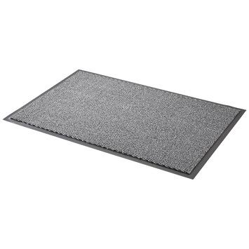 Schoonloopmat 60x90 cm grijs