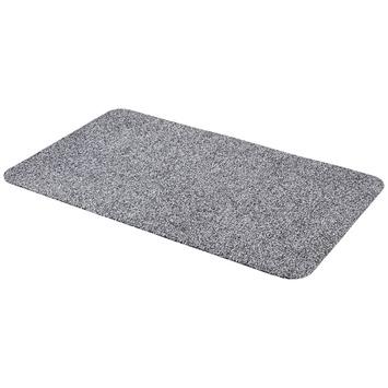 Droogloopmat 60x100 cm grijs