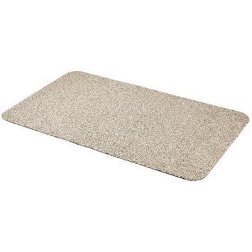 Droogloopmat 60x100 cm zand
