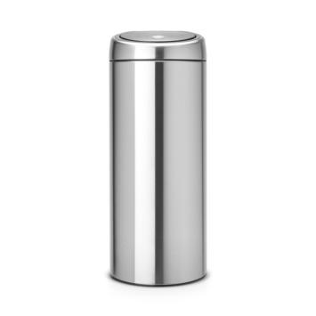 Brabantia 30 Liter Afvalemmer.Gamma Brabantia Touch Bin Afvalemmer 30 Liter Rvs Kopen
