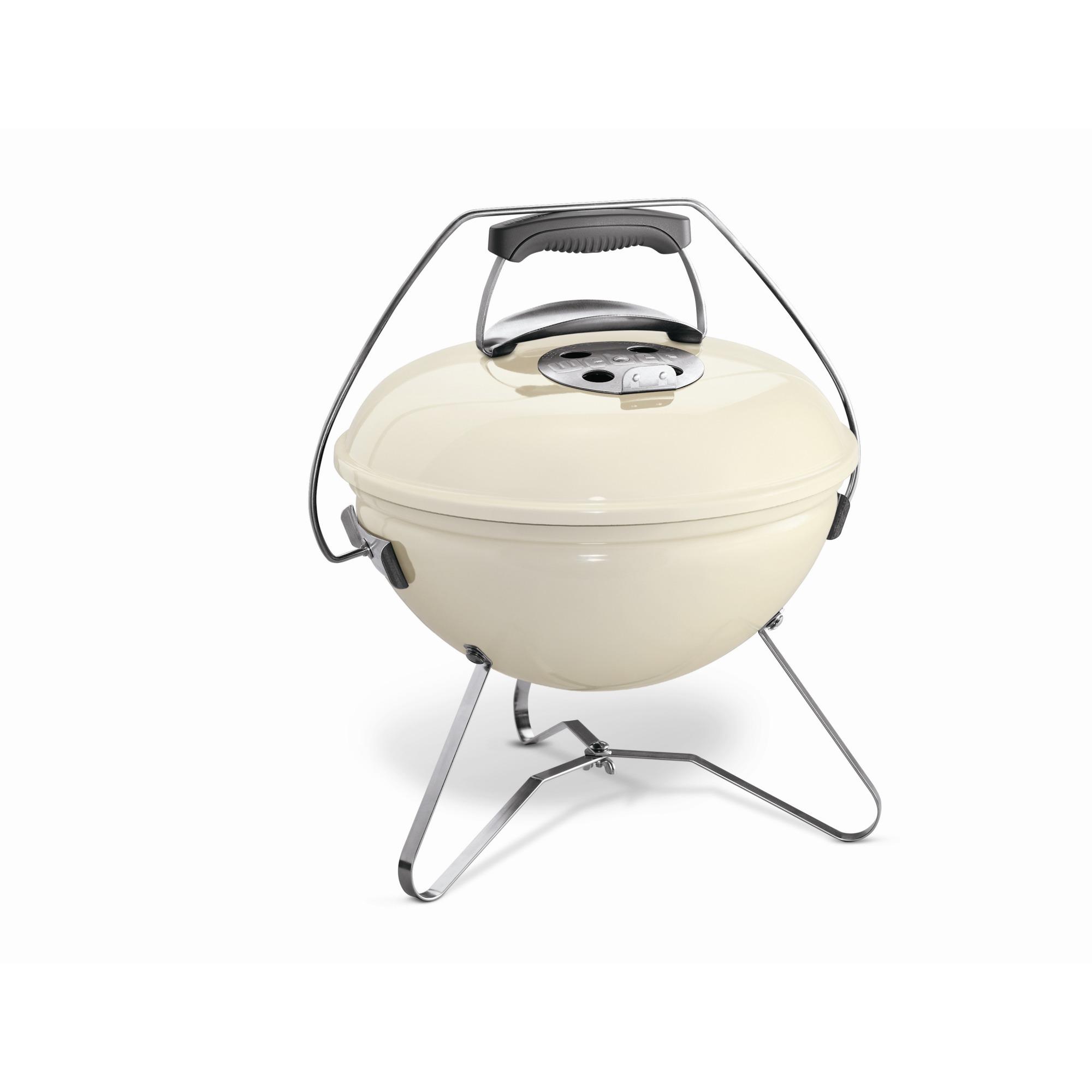 Weber Smokey Joe Premium houtskoolbarbecue Ivoor 37 cm
