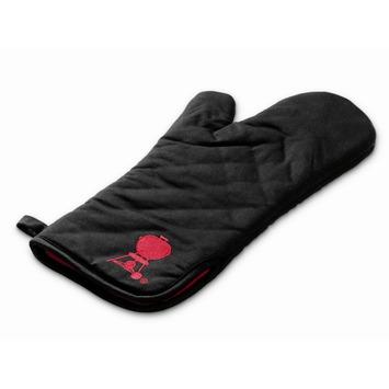 Weber barbecuehandschoen zwart rood