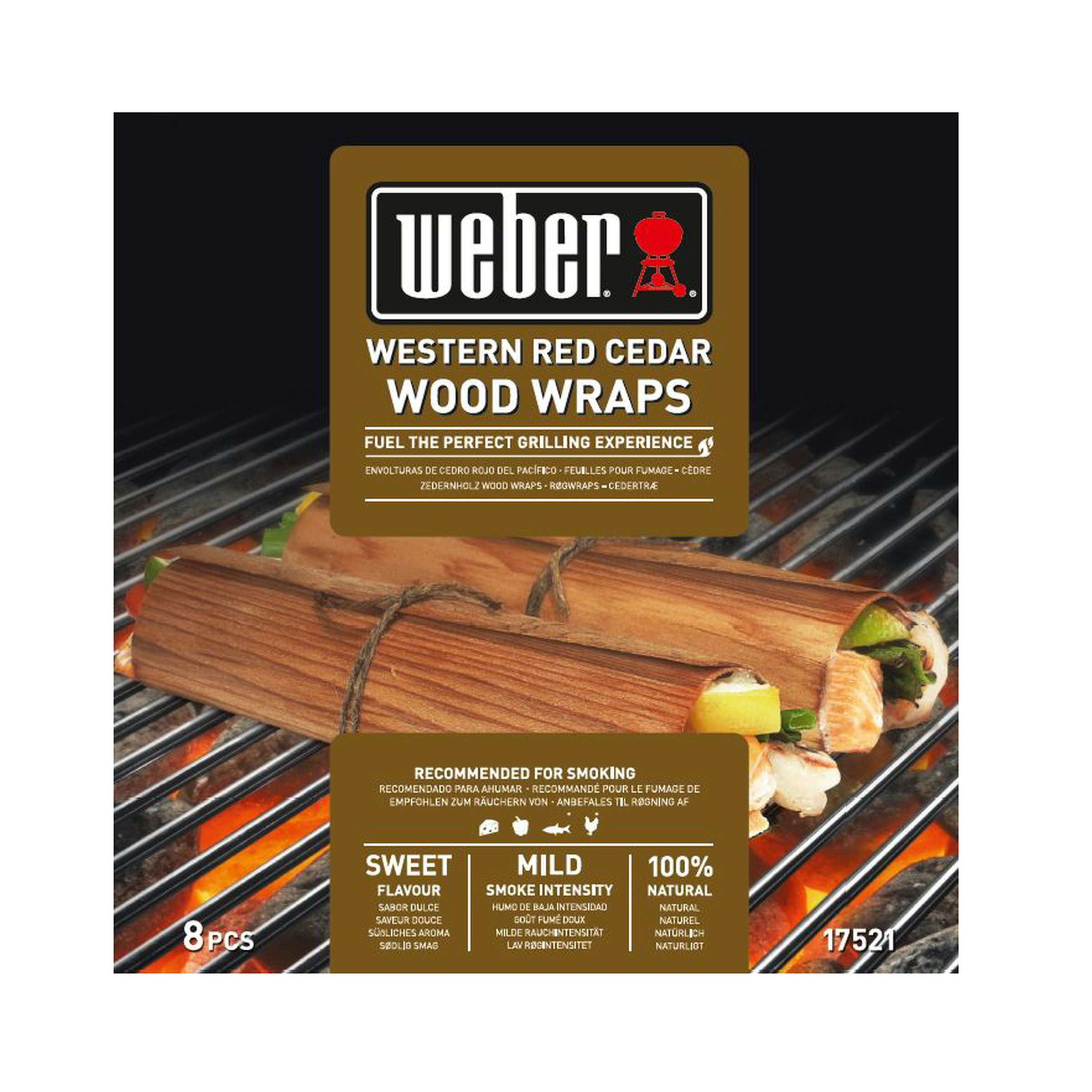 Weber Wood wraps western red cedar