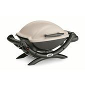 Weber Q1000 titaan gasbarbecue metaal 69x57 cm