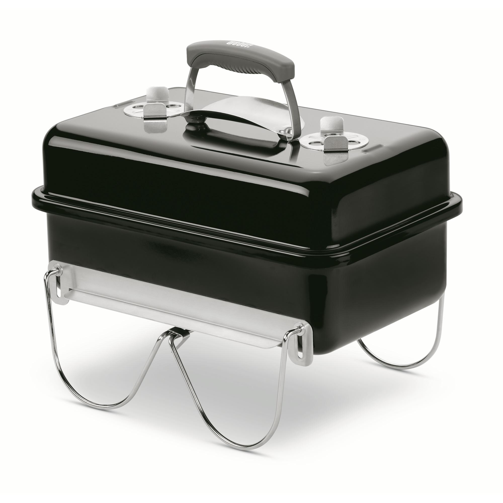 Weber Go Anywhere houtskoolbarbecue metaal zwart 53x37 cm