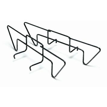 Weber houtskoolrails 2-delig